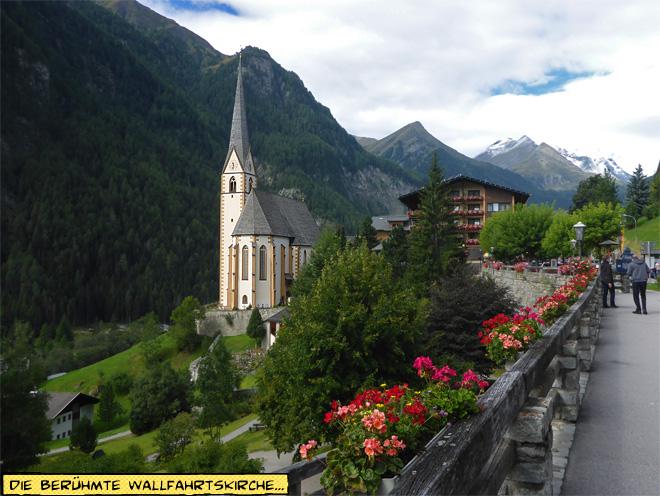 Wallfahrtskirche Heiligenblut am Großglockner