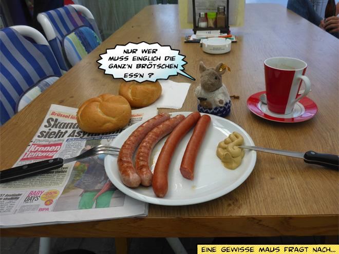 Guggs Würstlstandl Bratwurst
