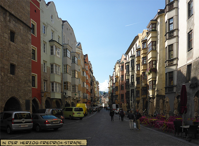 Herzog-Friedrich-Straße, Innsbruck