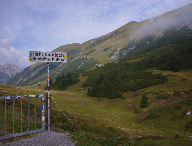 Hahntennjoch Pass