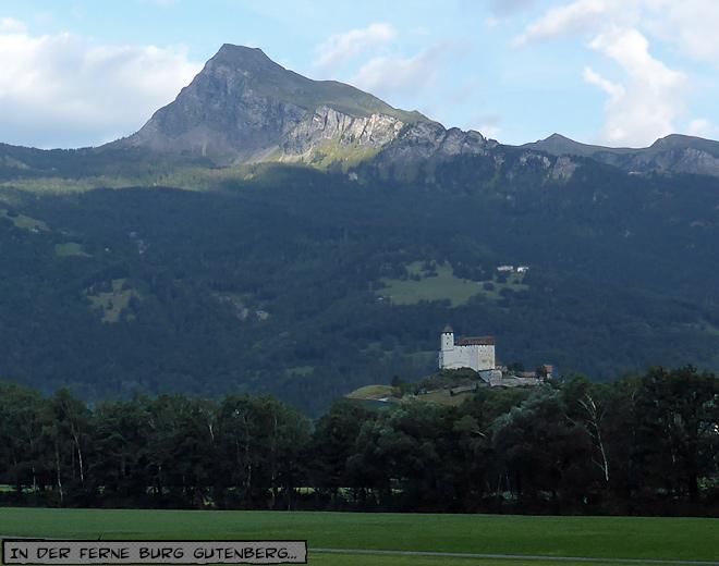 Burg Gutenberg Balzers Liechtenstein