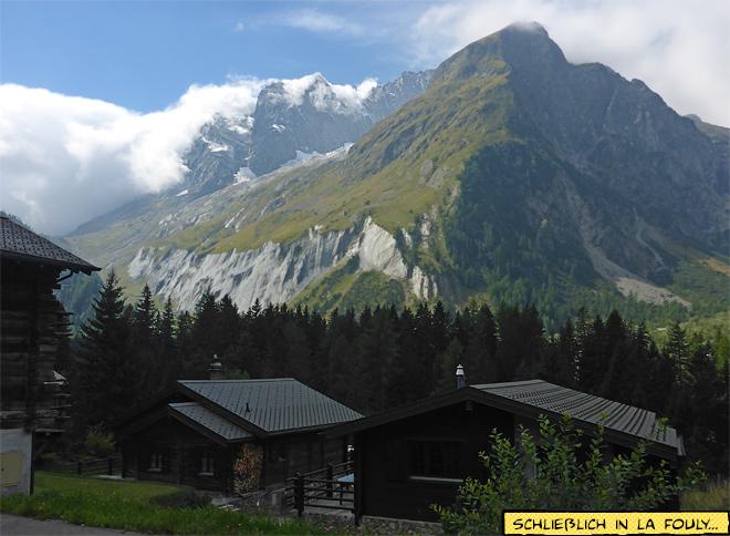 Bergdorf La Fouly Schweiz