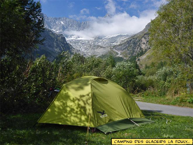 Camping des Glaciers La Fouly Schweiz