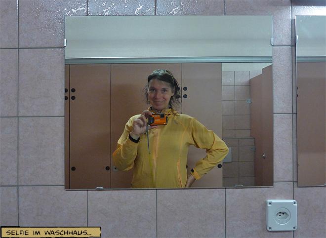 Selfie Svenja im Spiegel