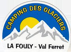 Camping des Glaciers La Fouly Aufkleber