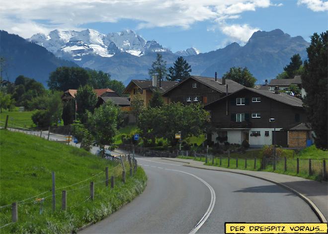Berg Niesen am Thunersee Schweiz