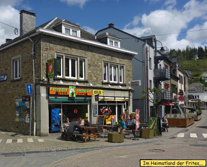 Friterie Houffalize belgien