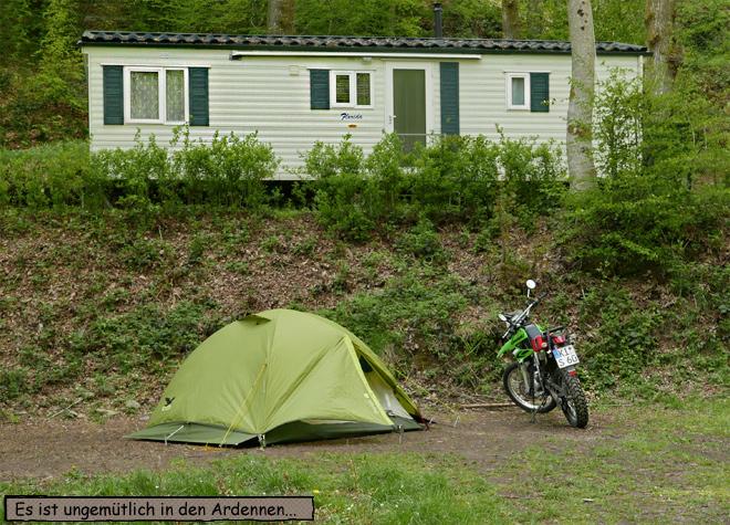 Camping Le Canada Zeltplatz