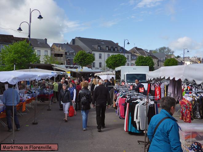 Wochenmarkt Florenville
