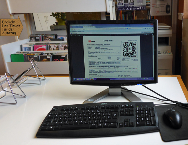PC Arbeitsplatz Computer Monitor Online Buchung