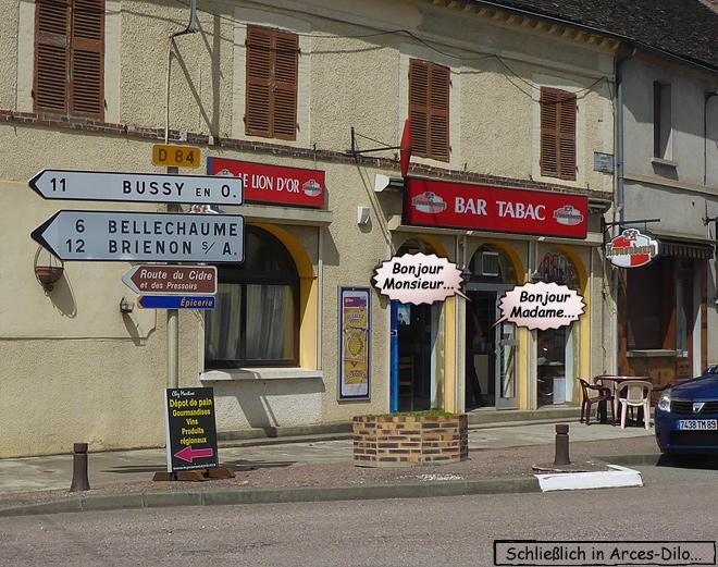 Bar Tabac Frankreich