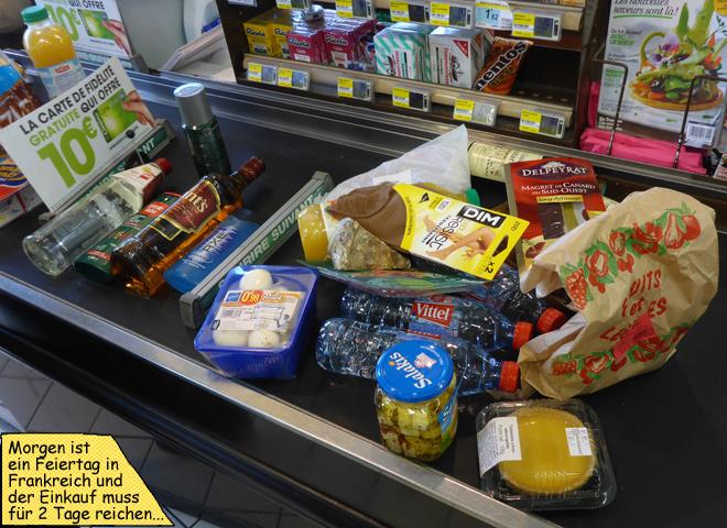 Supermarkt Kasse Laufband