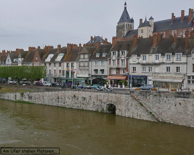 Gien Frankreich Brücke Loire
