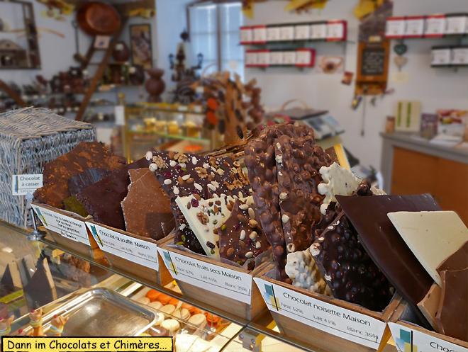 Chocolats et Chimères Briare le canal