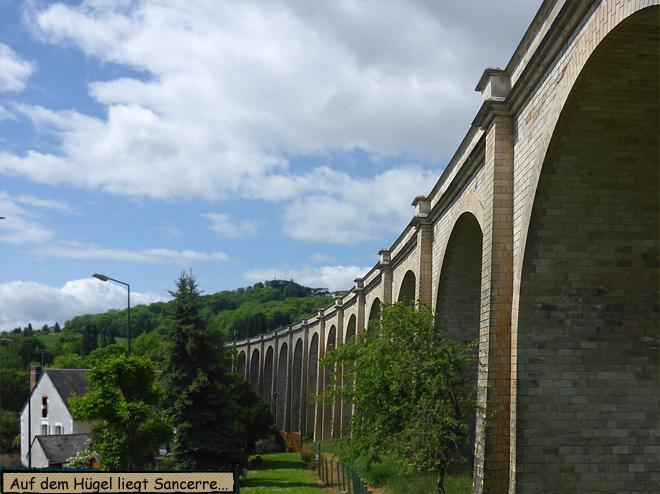 Viadukt bei Sancere