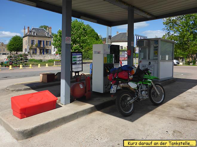 Automaten Tankstelle Frankreich