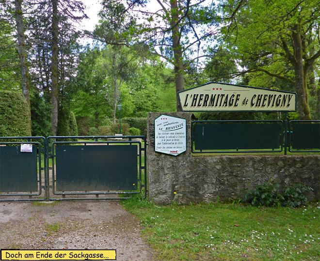 Camping L'hermitage de Chevigny Frankreich