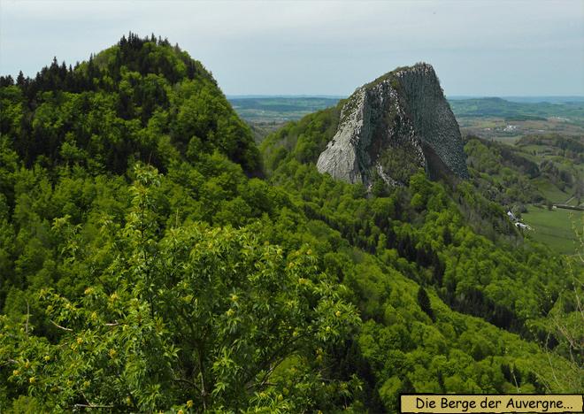 Auvergne Berge