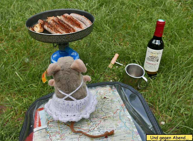 Camping Bratwurst
