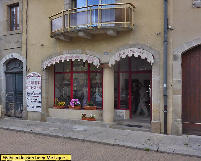 Metzgerei Frankreich