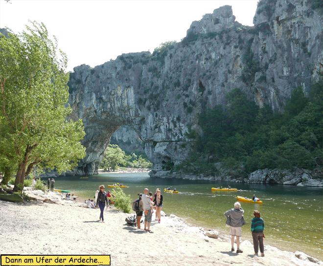 Ardèche Pont d' Arc
