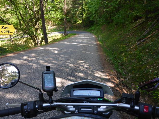 Bergstraße Motorrad
