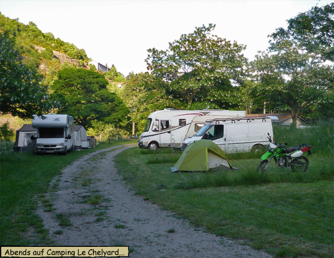 Camping Le Cheylard