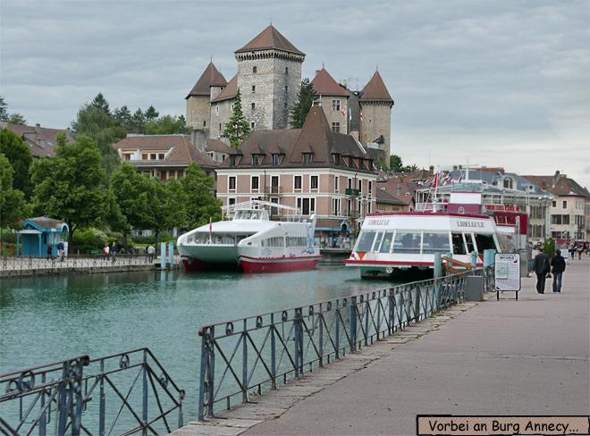 Schloss Burg Annecy