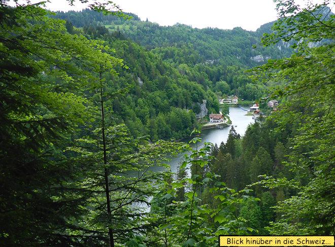 Le Doubs Schweiz