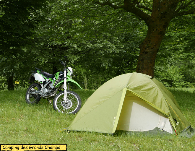 Camping des Grands Champs.