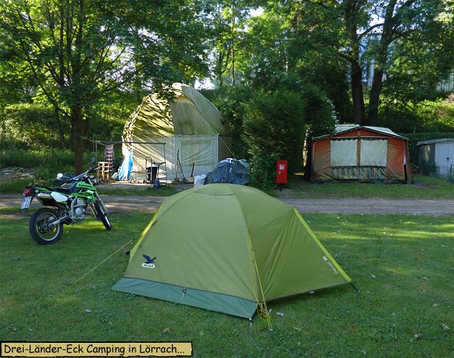 Drei Länder Eck Camping Lörrach