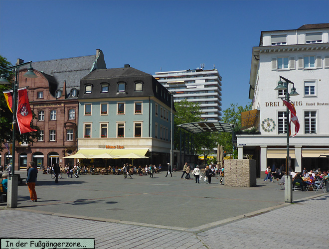 Lörrach Fußgängerzone
