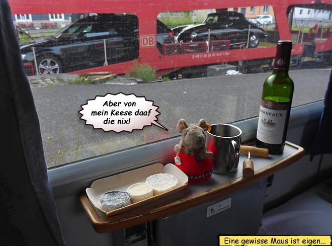 Autozug Liegewagen Innenansicht