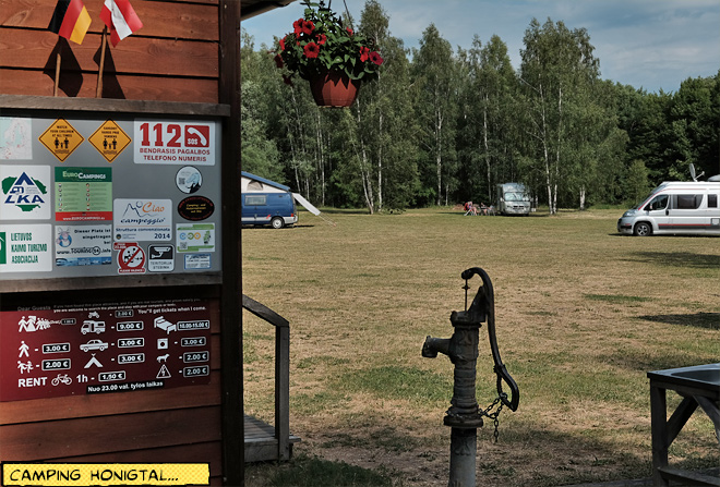 Camping Honigtal Litauen