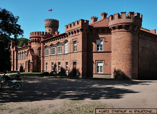 Burg Schloss Raudone Litauen