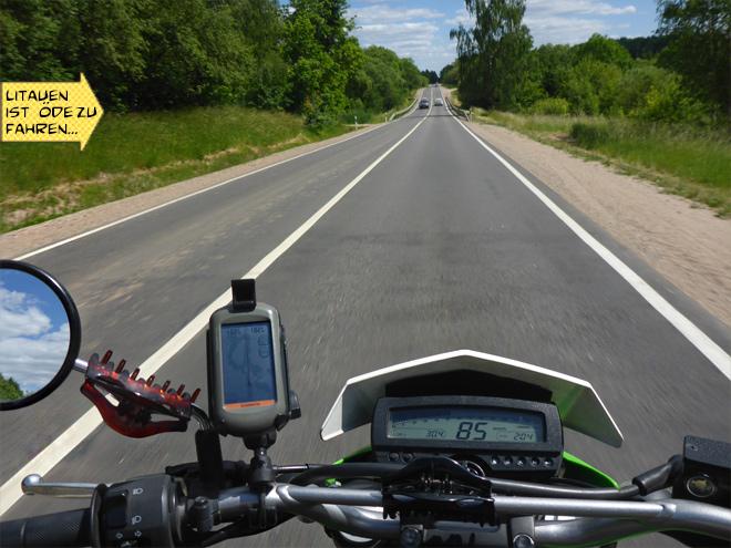 Motorrad Landstraße