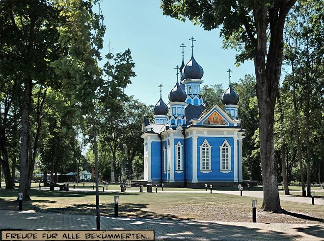 Blaue Kirche Druskininkai Litauen