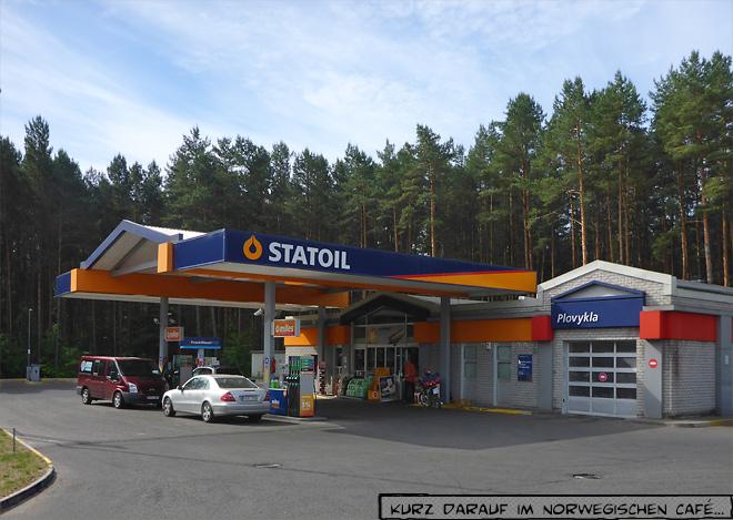 Statoil Tankstelle