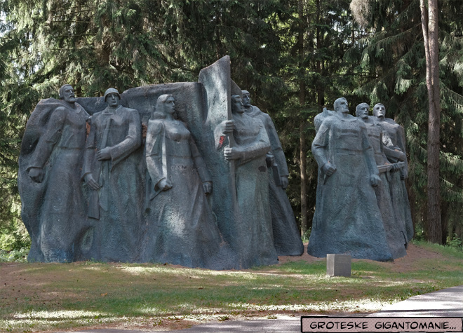 Skulpturen im Grutas Park Litauen