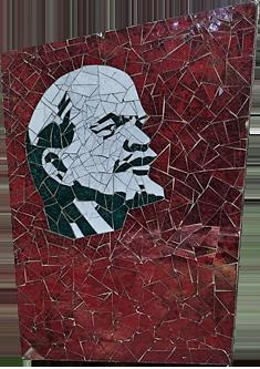 Grutas Park Litauen Lenin Mosaik