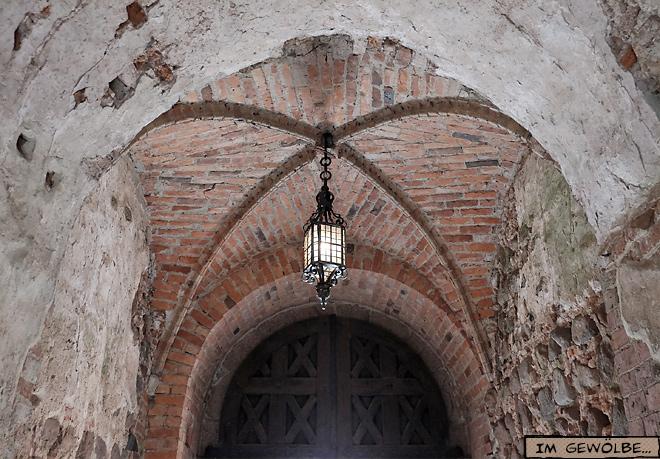 Wasserburg Trakai Litauen Gewölbe Vierung Laterne