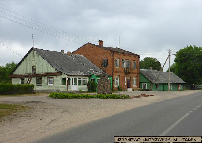 Dorf in Litauen