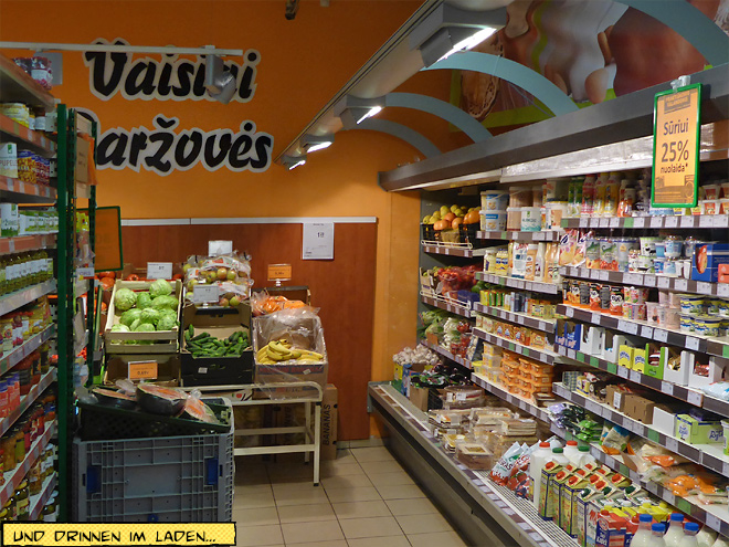 Supermarkt in Litauen