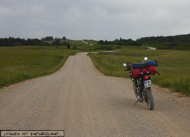 Sandweg in Litauen