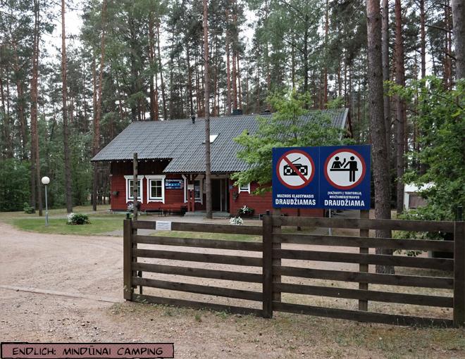Mindūnai Camping Litauen
