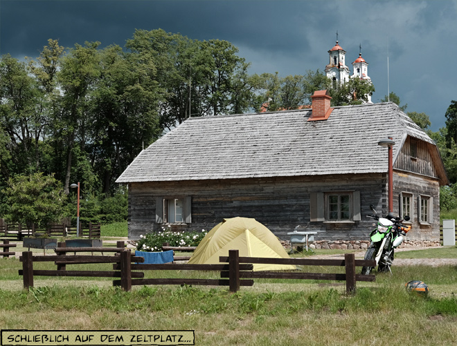 Camping Kurtuvenai Litauen