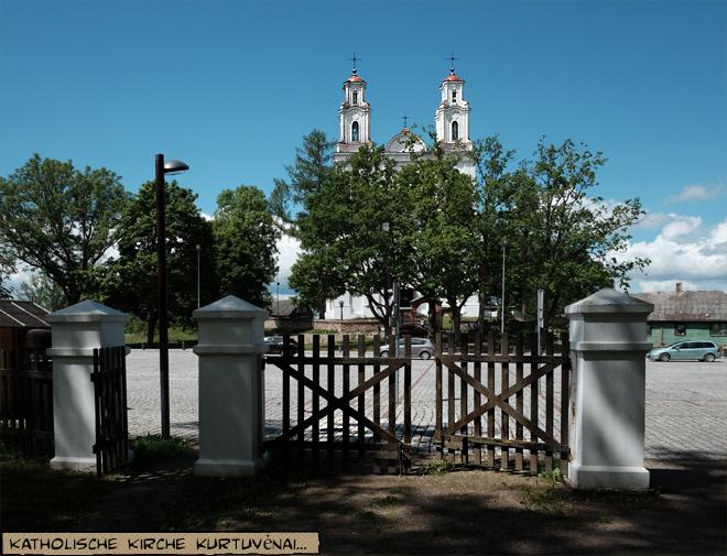 Basilika Kirche Kurtuvenai Litauen