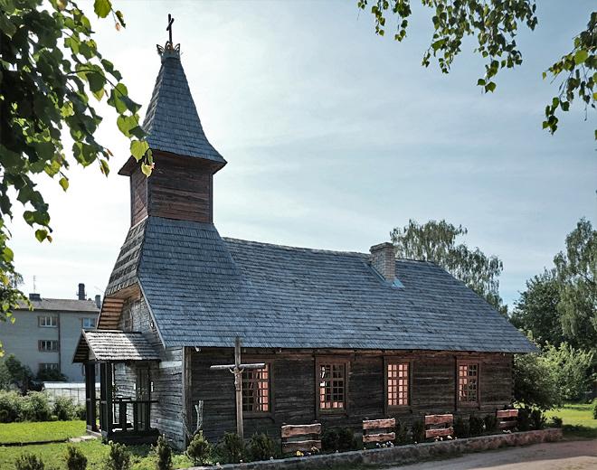Hölzerne Kirche