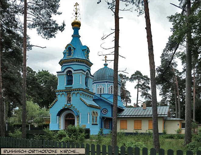 Blaue Kirche Riga