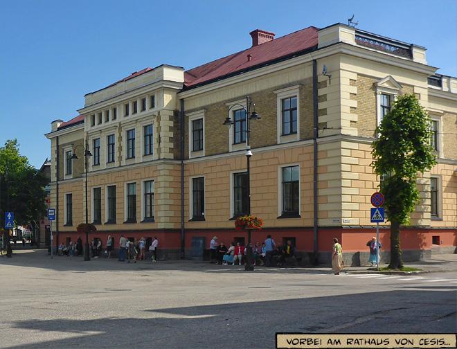 Rathaus Cesis